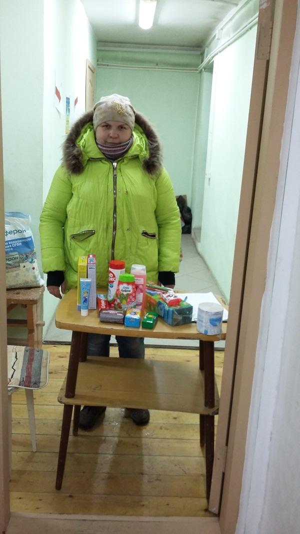 60 семей города Улан-Удэ получили помощь на Михайловских днях
