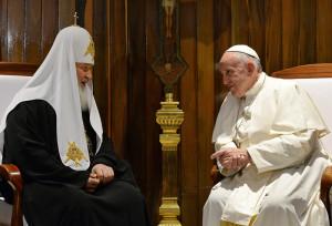 12 февраля на Кубе состоялась первая в истории встреча Патриарха Московского и Папы Римского