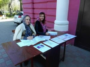 Сбор подписей за запрет абортов в Ростове-на-Дону