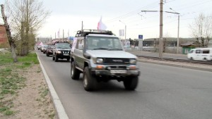 Автопробег «За жизнь» в Улан-Уде