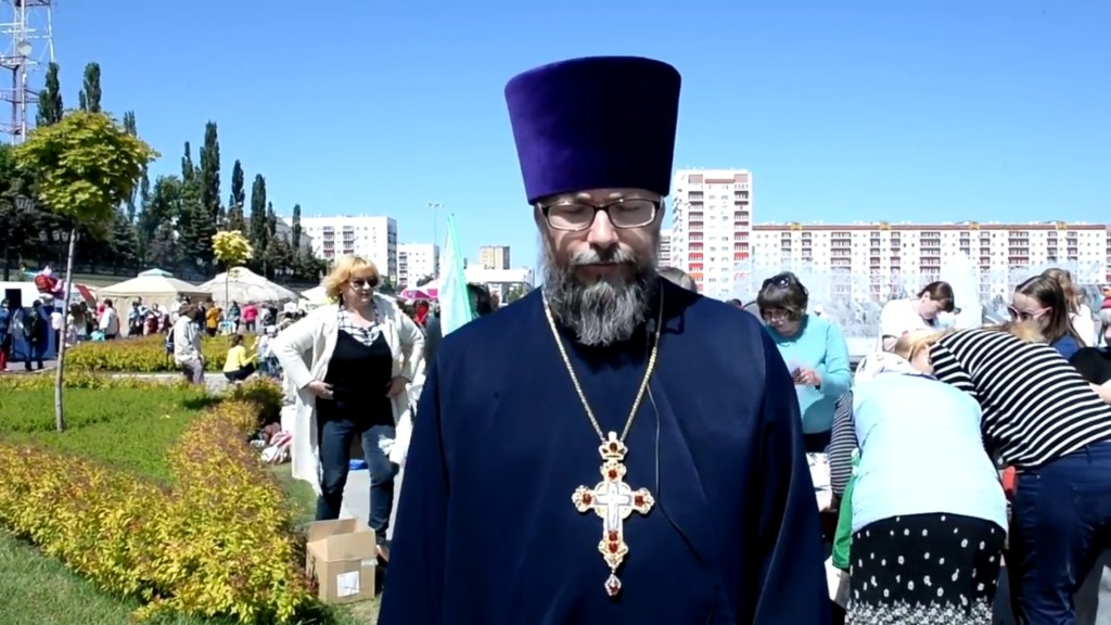 Протоиерей Вячеслав Архангельский, Уфимская епархия