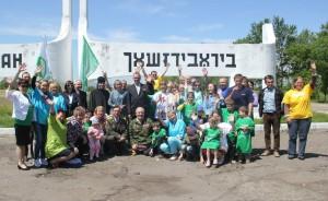 Автопробег, посвященный защите детей, завершился конференцией в соседней епархии