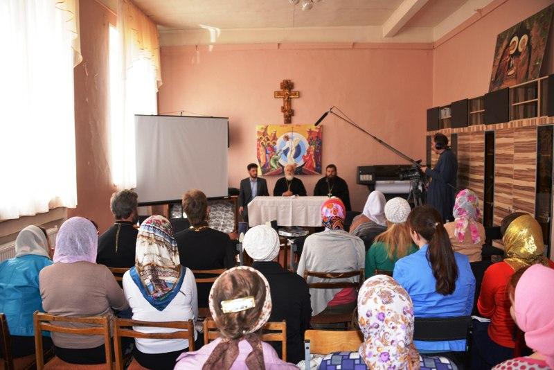 Фильм «Афон за жизнь» был презентован соцработникам Тверской епархии