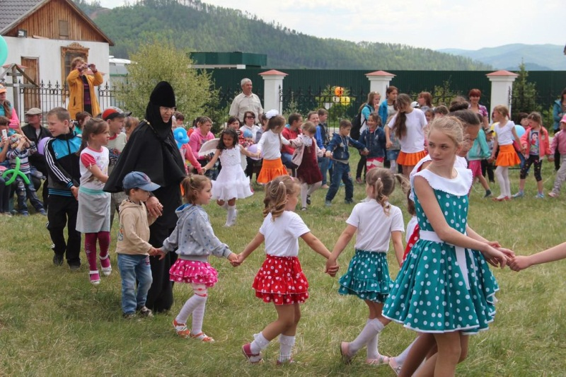 Крестный ход в День защиты детей. Улан-Удэ