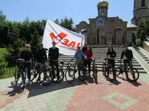 День защиты детей в Нижнекамске. Молодежный велопробег за запрет абортов