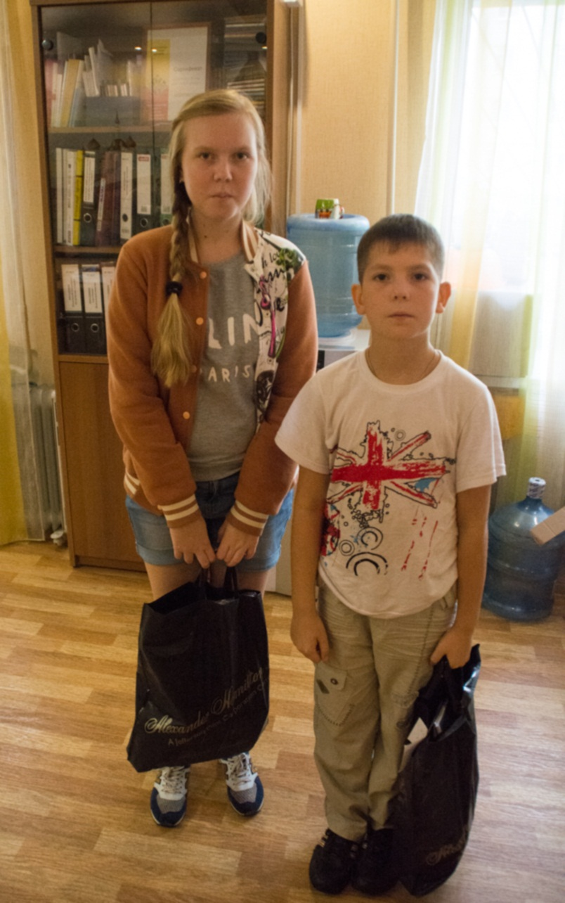 Акция «Соберем портфель в школу». Выкса