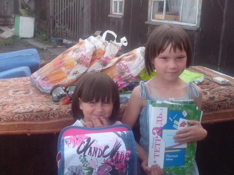 Акция «Соберём деток в школу» в Челябинске