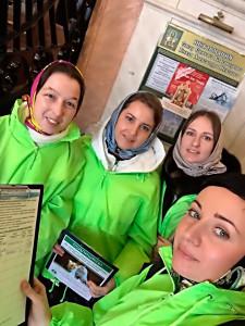 Православная молодежь Канавинского благочиния продолжает сбор подписей за запрет абортов