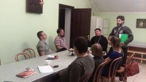 Встреча представителей добровольческого движения «За жизнь» и группой активной православной молодежи городского движения «Покров» в Тольятти