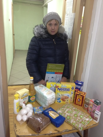 28 семьям Улан-Удэ выдана помощь!