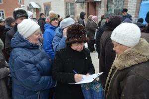 Сбор подписей За Жизнь в день Крещения Господня в Димитровграде