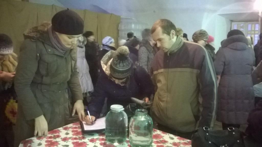 Сбор подписей за запрет абортов в Шуе