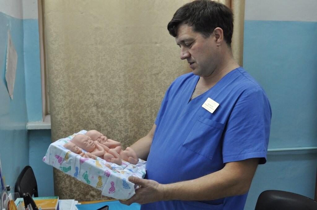 Заведующий отделением гинекологии областной больницы