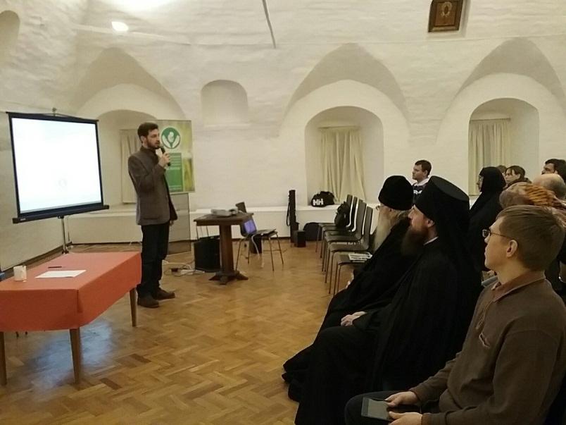 Встреча в Высоко-Петровском монастыре