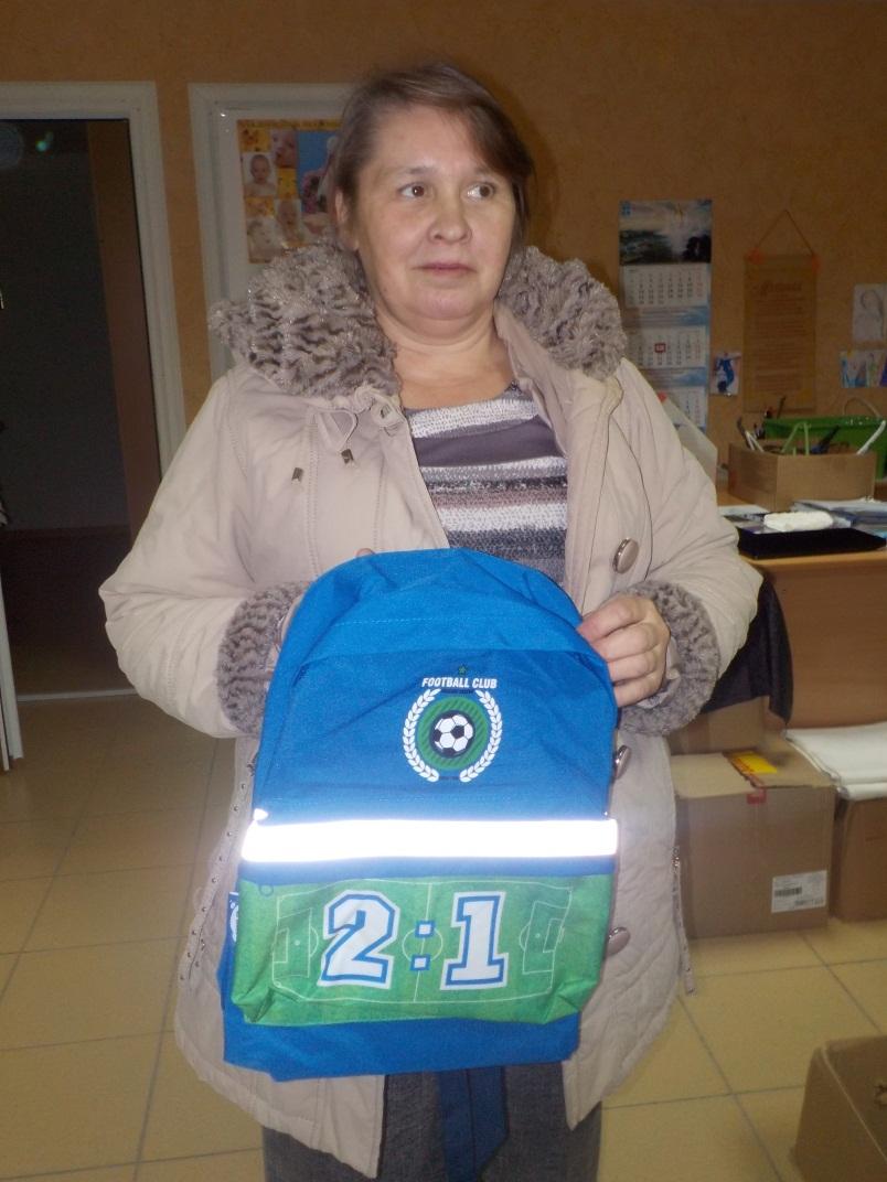 Детям из Дзержинска помогли собраться в школу