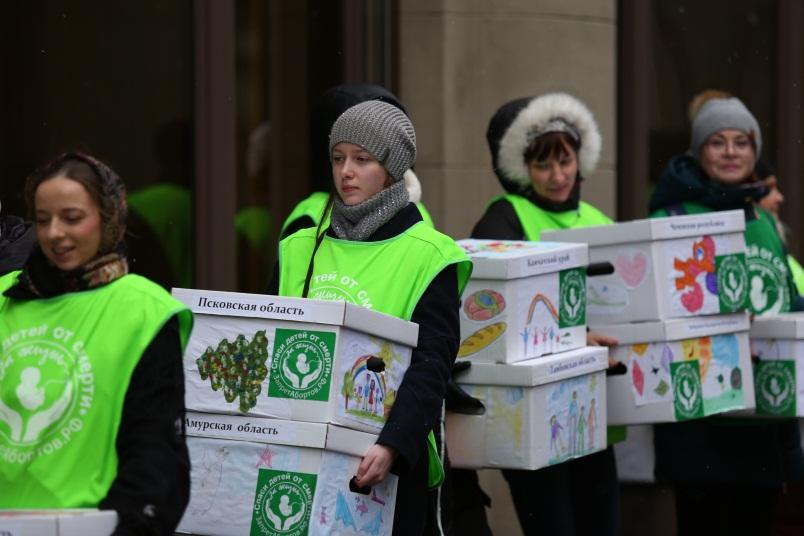 21 ноября 2017 года представители Общероссийского общественного движения «За жизнь!» привезли в администрацию президента РФ миллион подписей за законодательную защиту человеческой жизни с момента зачатия.