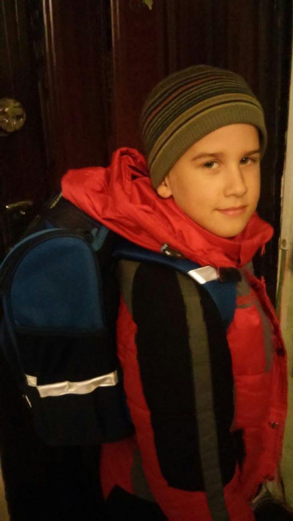 Калуга благодарит за помощь к школе