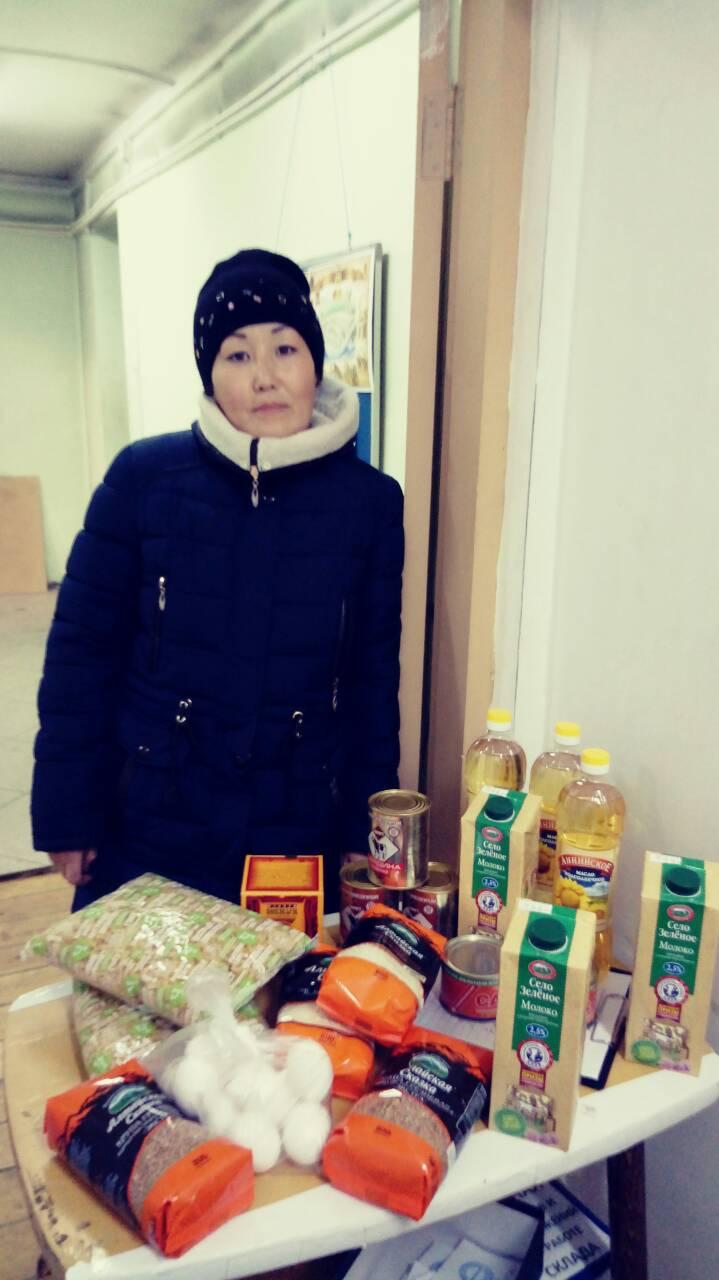 Бурятия. К Михайловским дням помощь получили 20 семей.