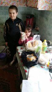 Семьи Приморья благодарят за помощь к Пасхе