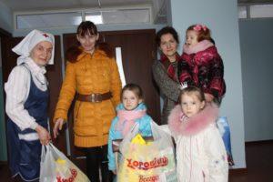 Лесосибирск благодарит за помощь к Пасхе