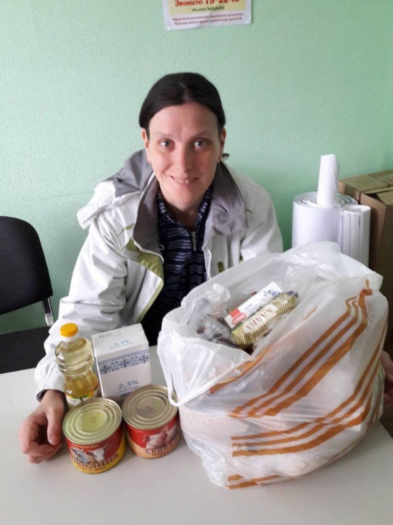 Помощь к Пасхе малообеспеченным семьям Мурманска