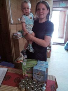 Благодарность из Калуги за помощь к Международному дню защиты детей