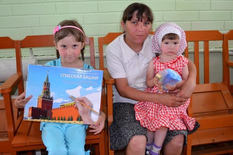 Акция в День защиты детей. Забайкалье.