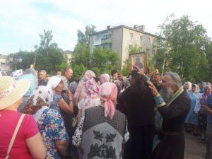 Крестный ход в Чернушке. Пермская епархия