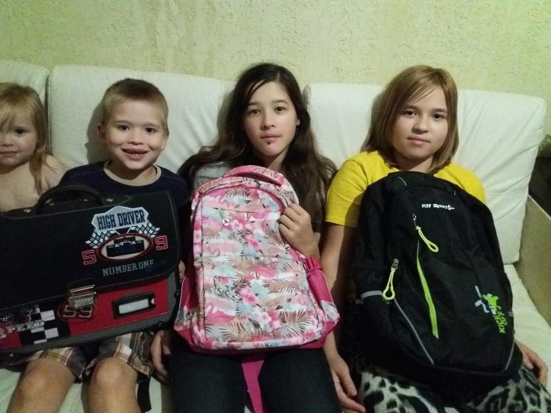 Семьи Калуги благодарят за помощь