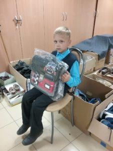 Благодарность из Дзержинска. Акция «Скоро в школу 2018». Программа «Спаси жизнь!»
