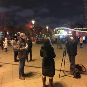 Акция в День защиты прав ребёнка в Москве