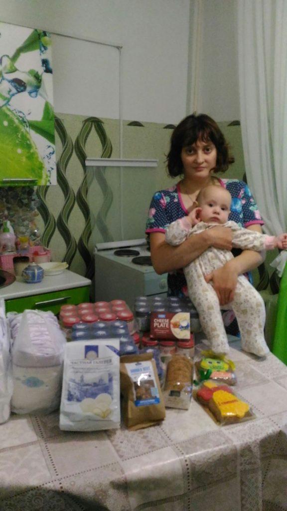 Спасибо от нуждающихся семей Удомли
