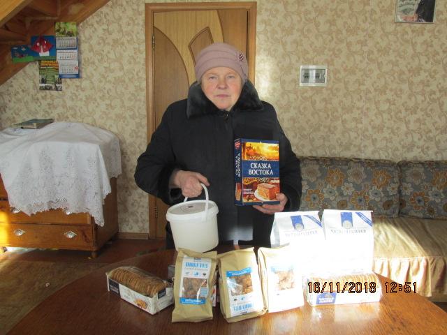 Подопечные семьи Брянска получили помощь. Михайловские дни.