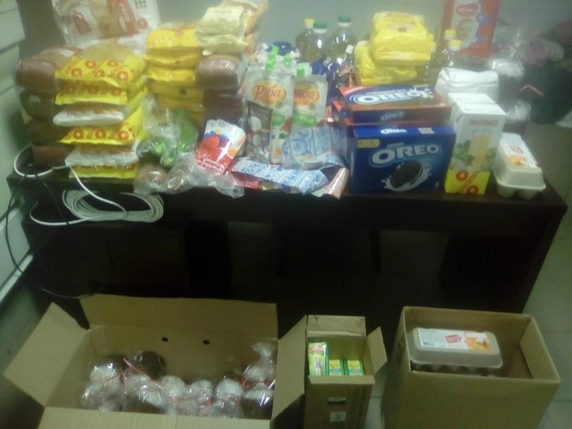 Помощь к Пасхе получили 15 семей, подопечных РОО «Две полоски»