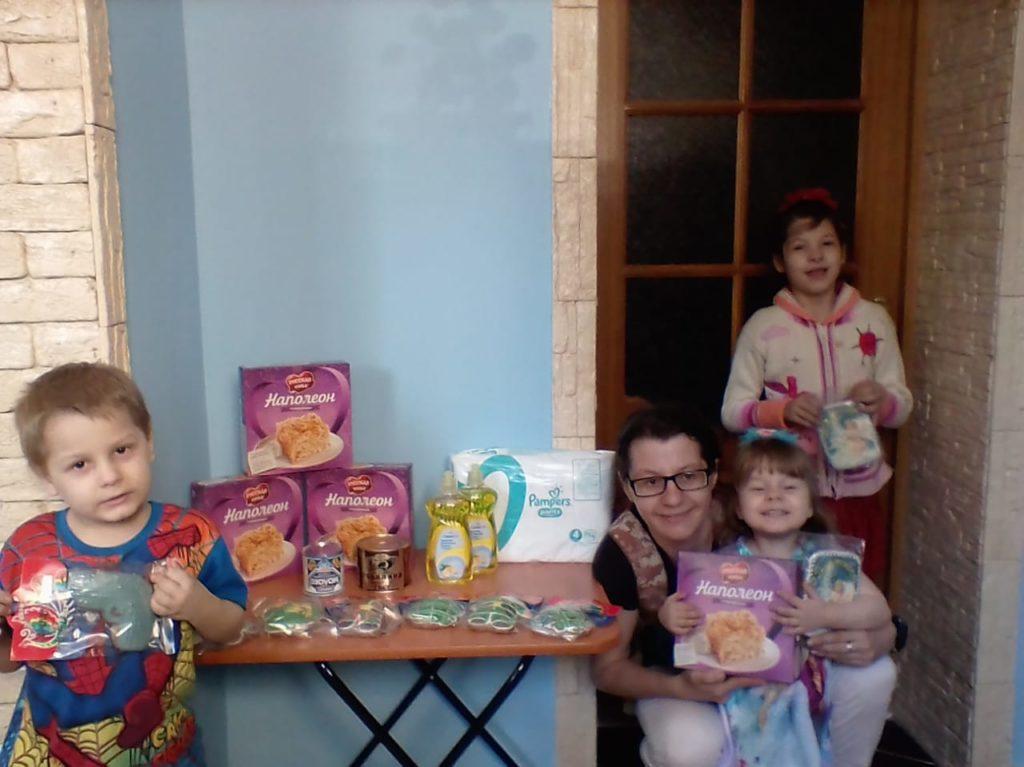 19 воронежских семей получили помощь к Пасхе