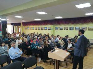 600 учеников прослушали лекции в первый день практических курсов для лекторов