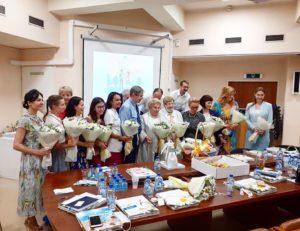 Мария Студеникина приняла участие в круглом столе Департамента здравоохранения